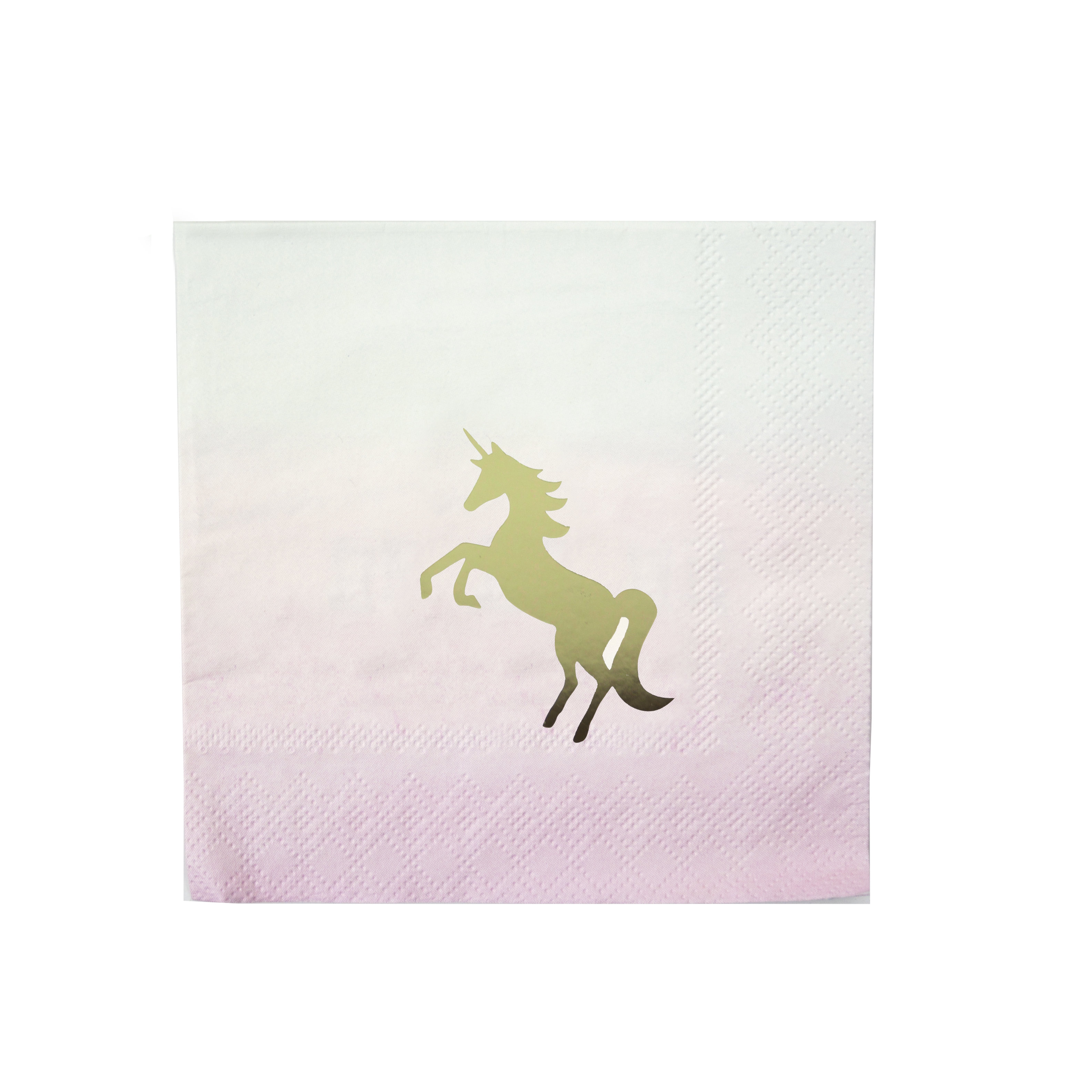 We Heart Unicorn Napkin