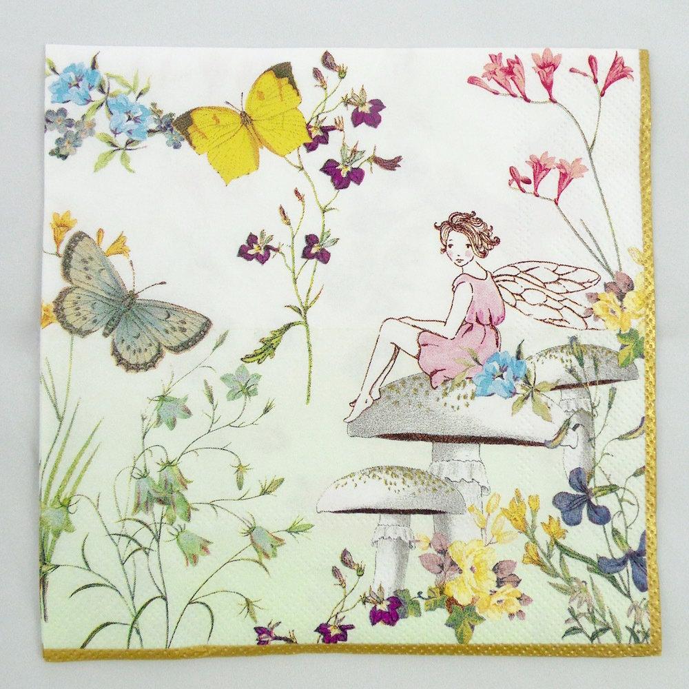 Truly Fairy Napkin 30206