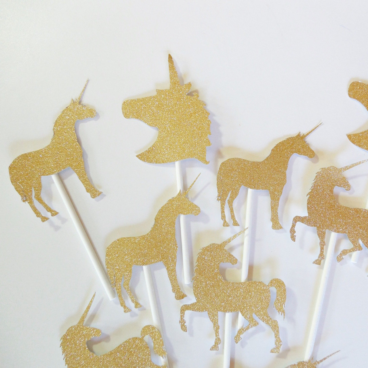 Unicorn Cupcake Toppers 22021