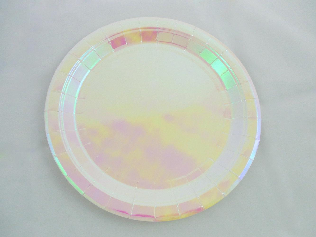 Iridescent Plate
