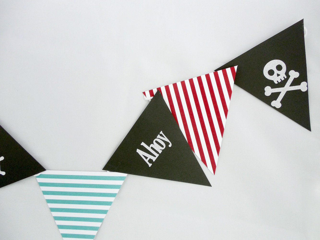 Pirate Paper Banner
