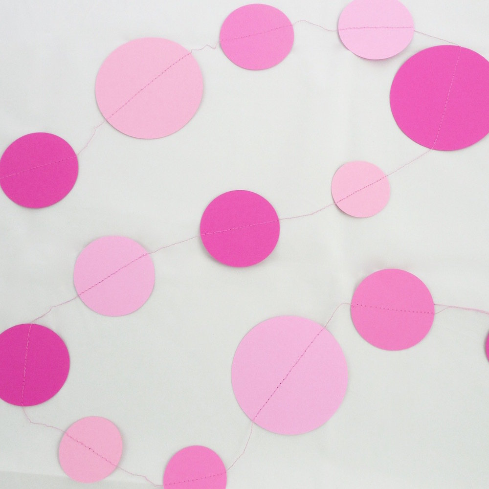 Dot Garland, Pink 22031