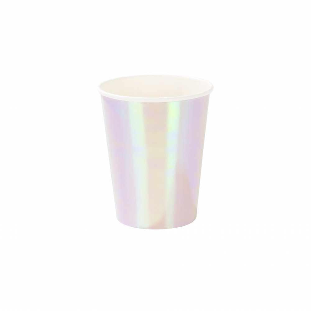 Iridescent Paper Cup