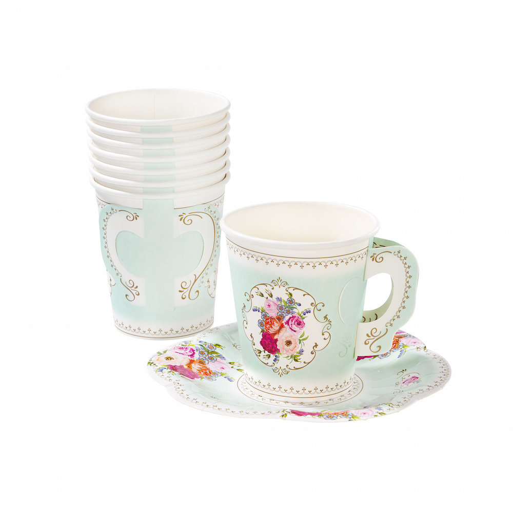 Truly Scrumptious Cups & Saucers Set