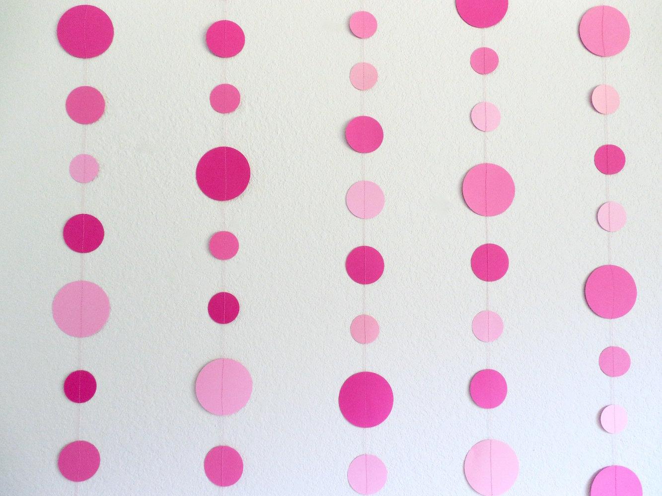 Dot Garland, Pink