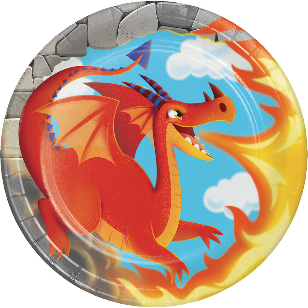 Dragon Plate, small 60051