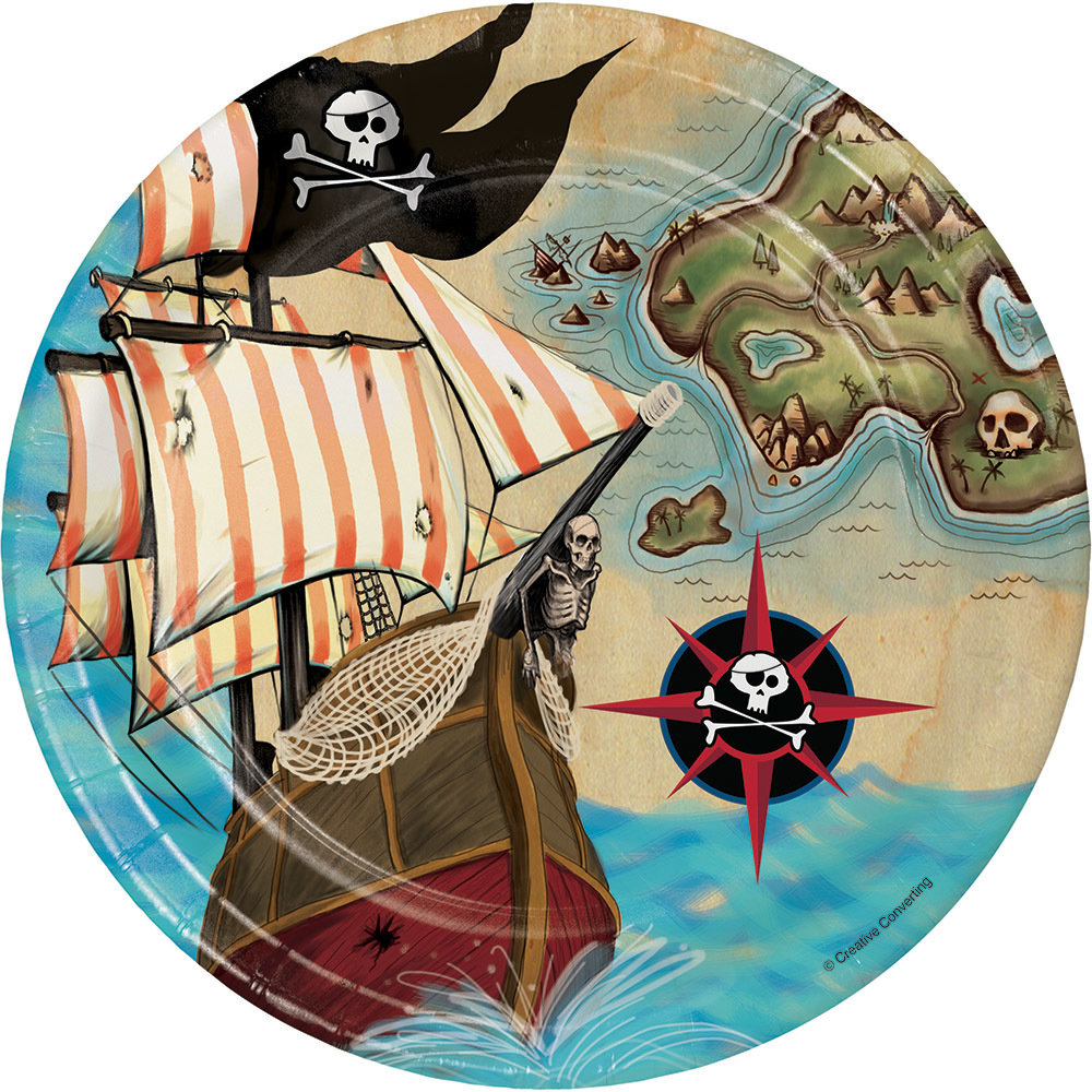 Pirate Plate, small 60054