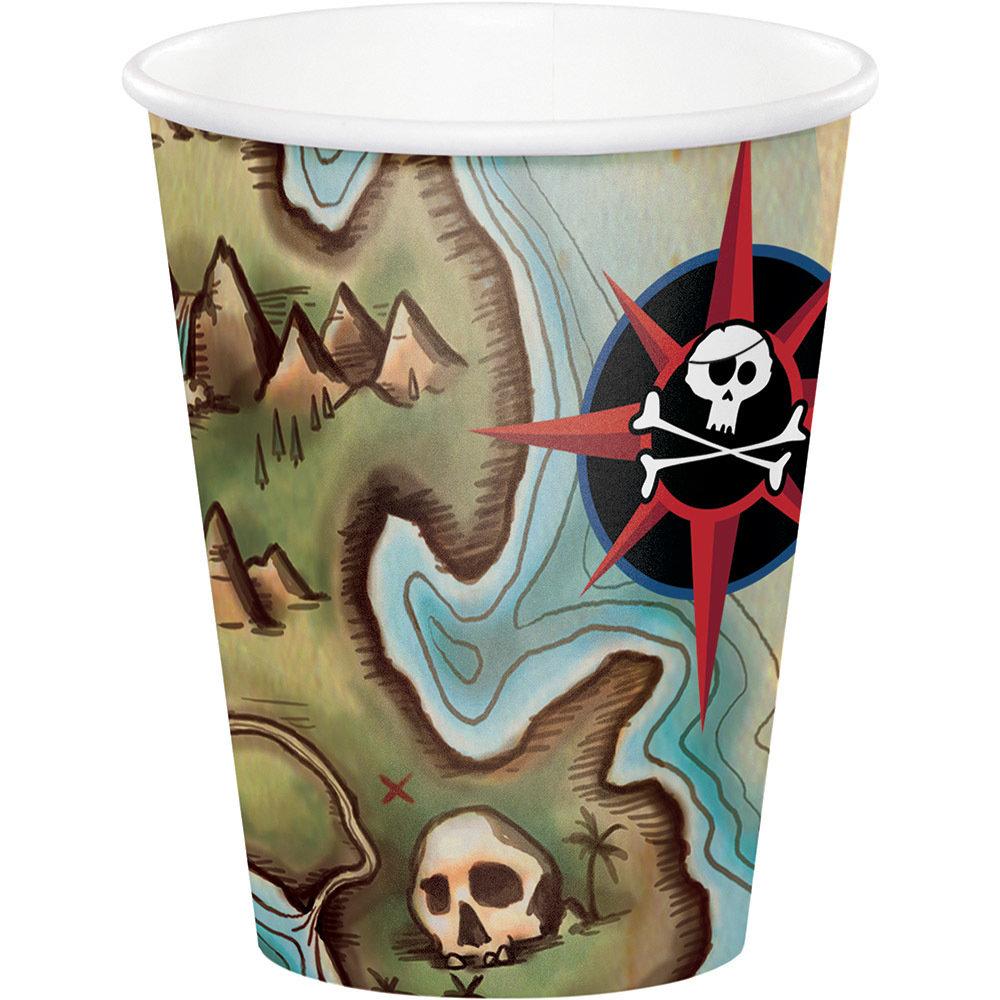 Pirate Paper Cups 60056