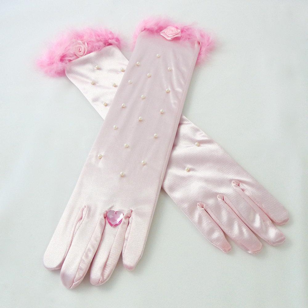 Princess Gloves Pink 50107