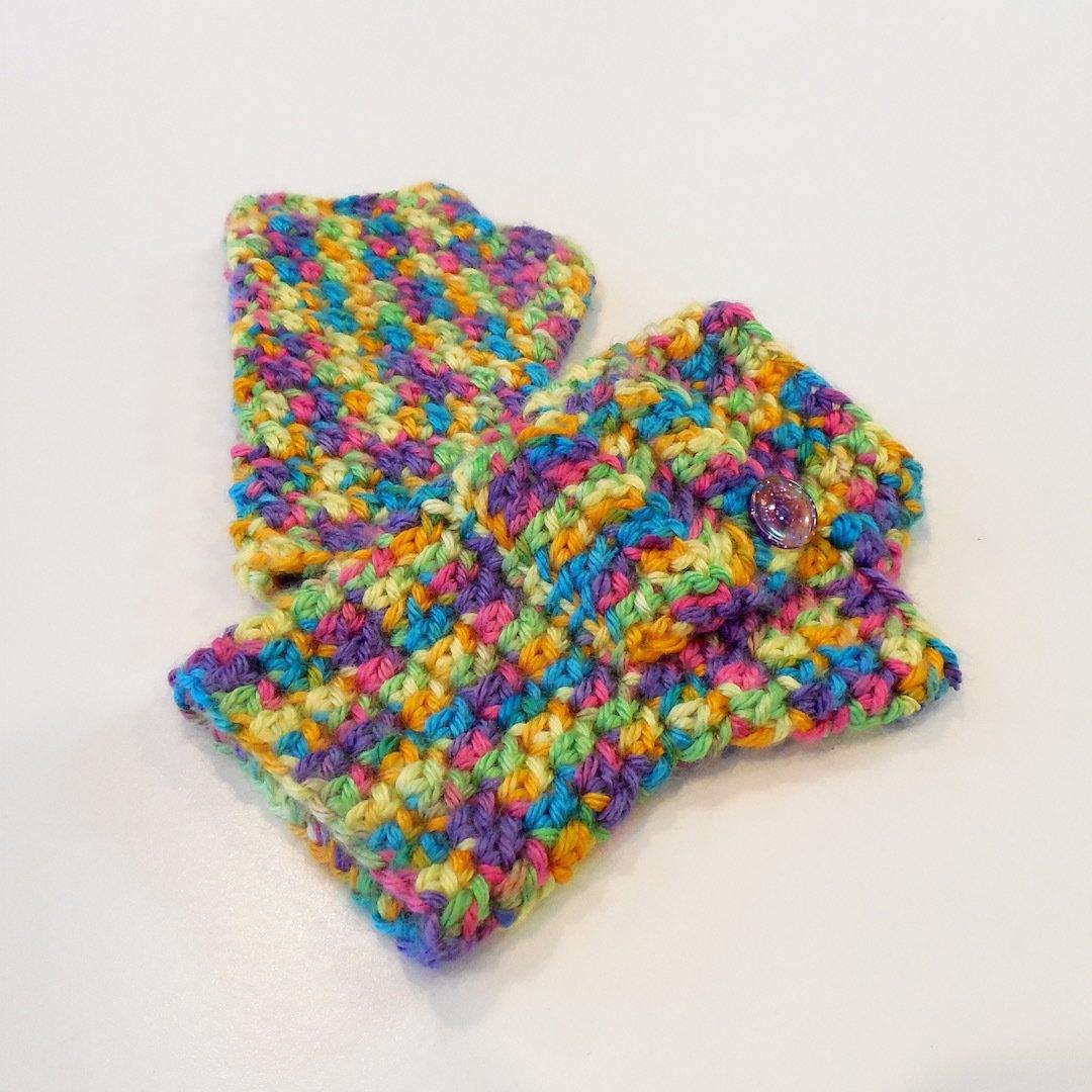 Kids Fingerless Gloves, Creatura 000503