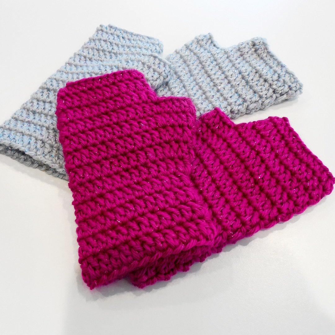 Kids Fingerless Gloves, Sparkle 000501