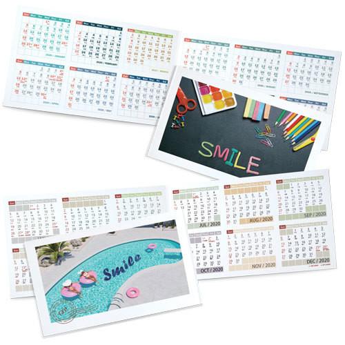 DSA12 口袋月曆咭