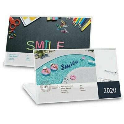 DSA05 長形透明盒月曆 (快樂人生)