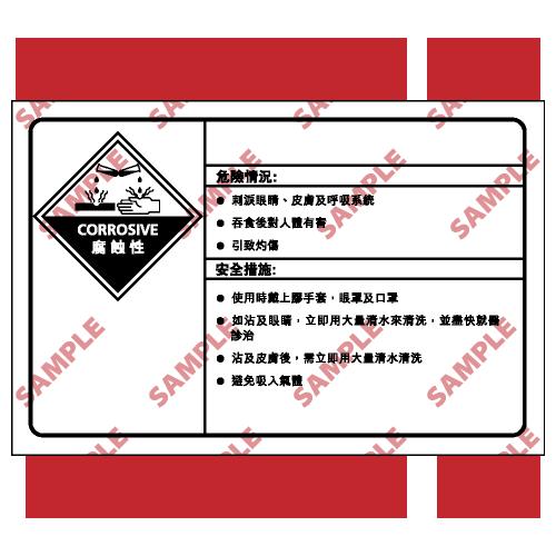 CL31 - 化學類安全標誌