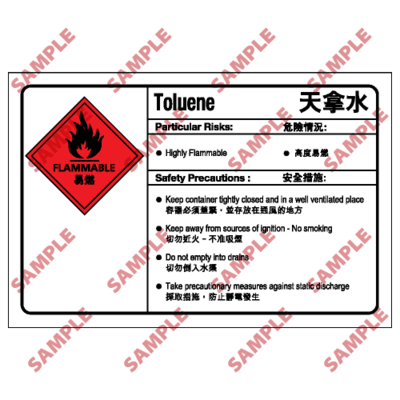 CL05 - 化學類安全標誌