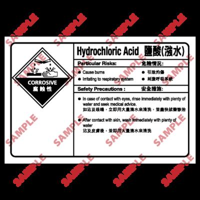 CL08 - 化學類安全標誌