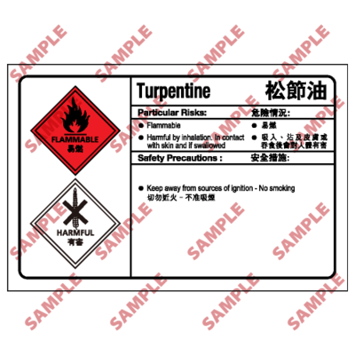 CL20 - 化學類安全標誌