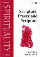 Sculpture, prayer and scripture