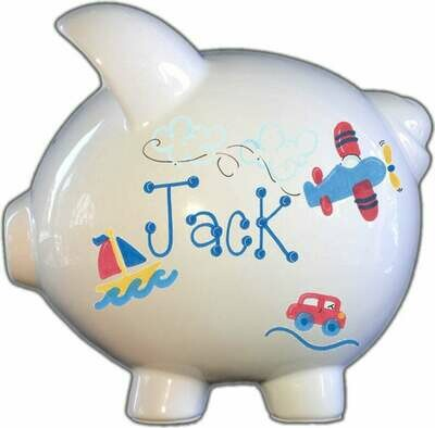 Around the World Piggy Bank