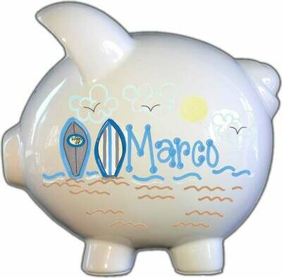 Surfboards Piggy Bank