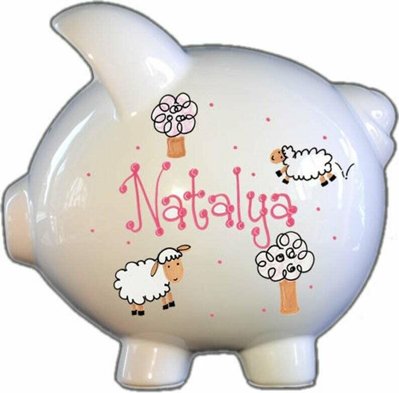 Sheep Piggy Bank