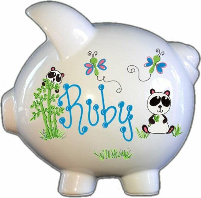 Panda Bear Piggy Bank