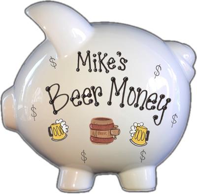 Beer Money Piggy Bank