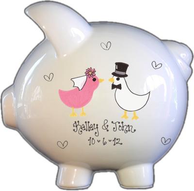 Wedding Fund Piggy Bank