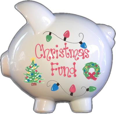 Christmas Fund Piggy Bank
