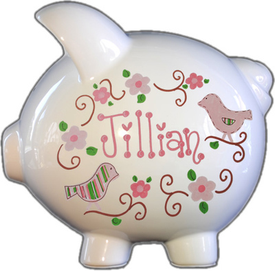 Lovebirds Piggy Bank