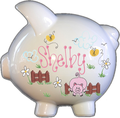 Lil Piggy Design Piggy Bank