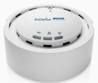 ENGENIUS HIGH POWER 11N AP/WDS SMOKE DETECTOR STYLE