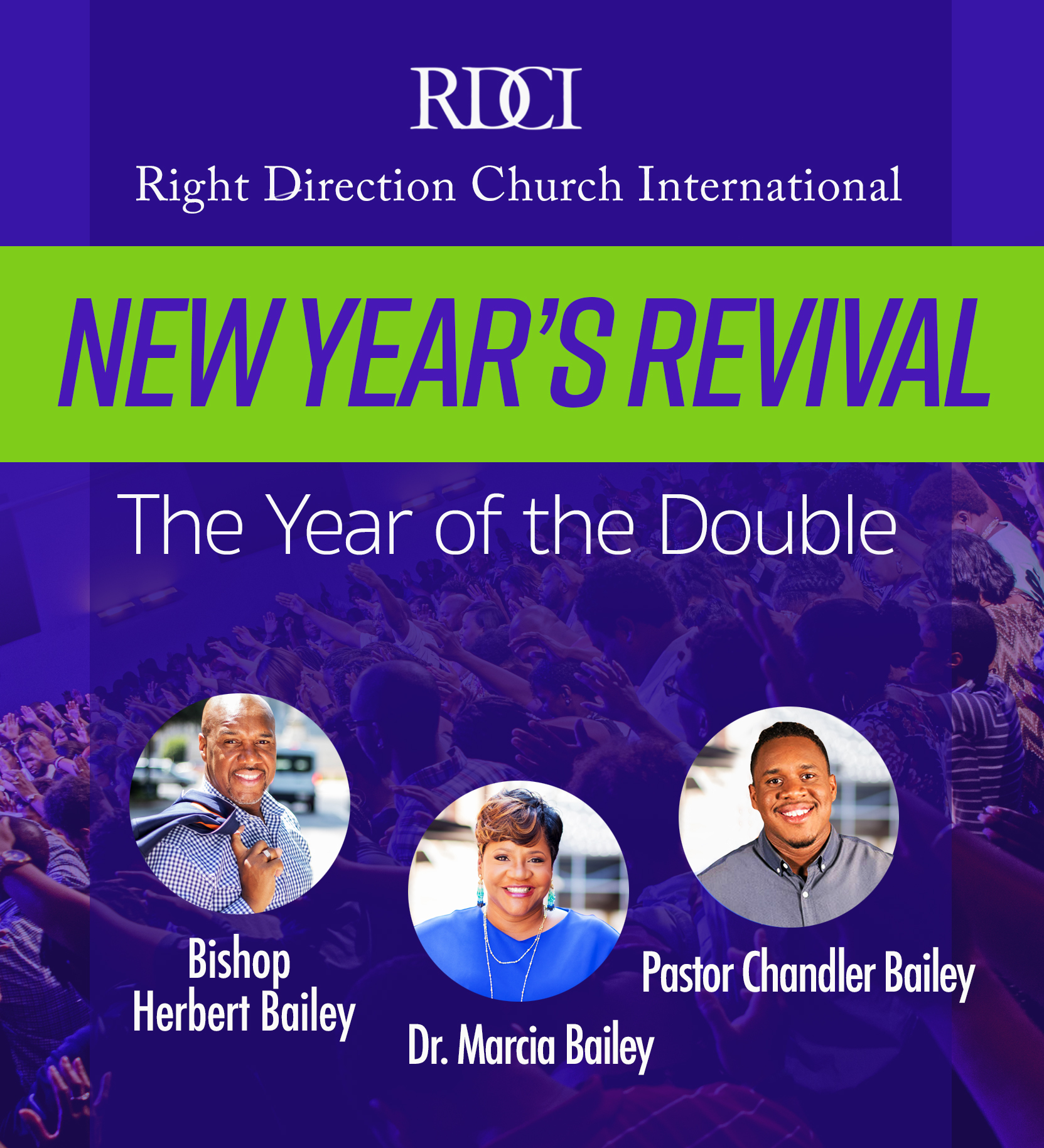 New Year's Revival: The Year of the Double (CD Series) CDS6159