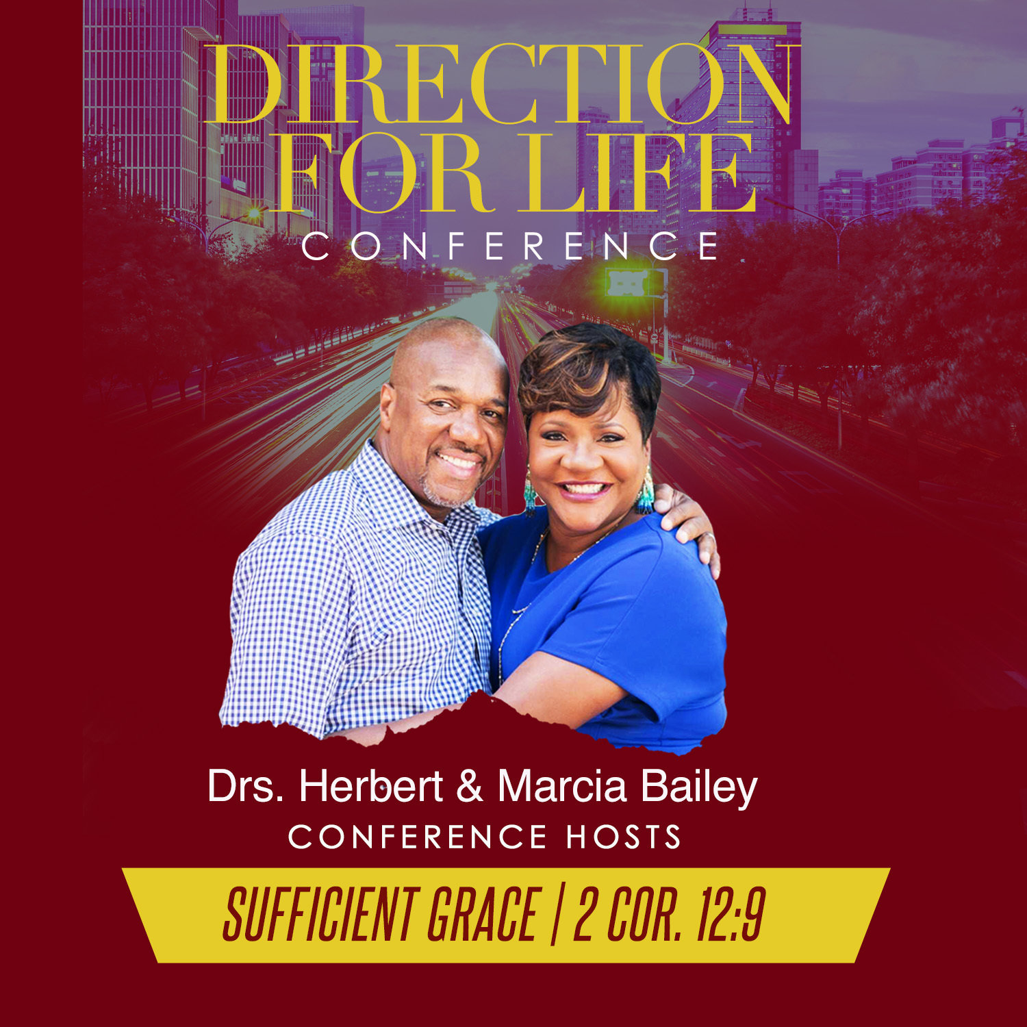 Direction for Life 2017: Sufficient Grace-CD Series CD5837