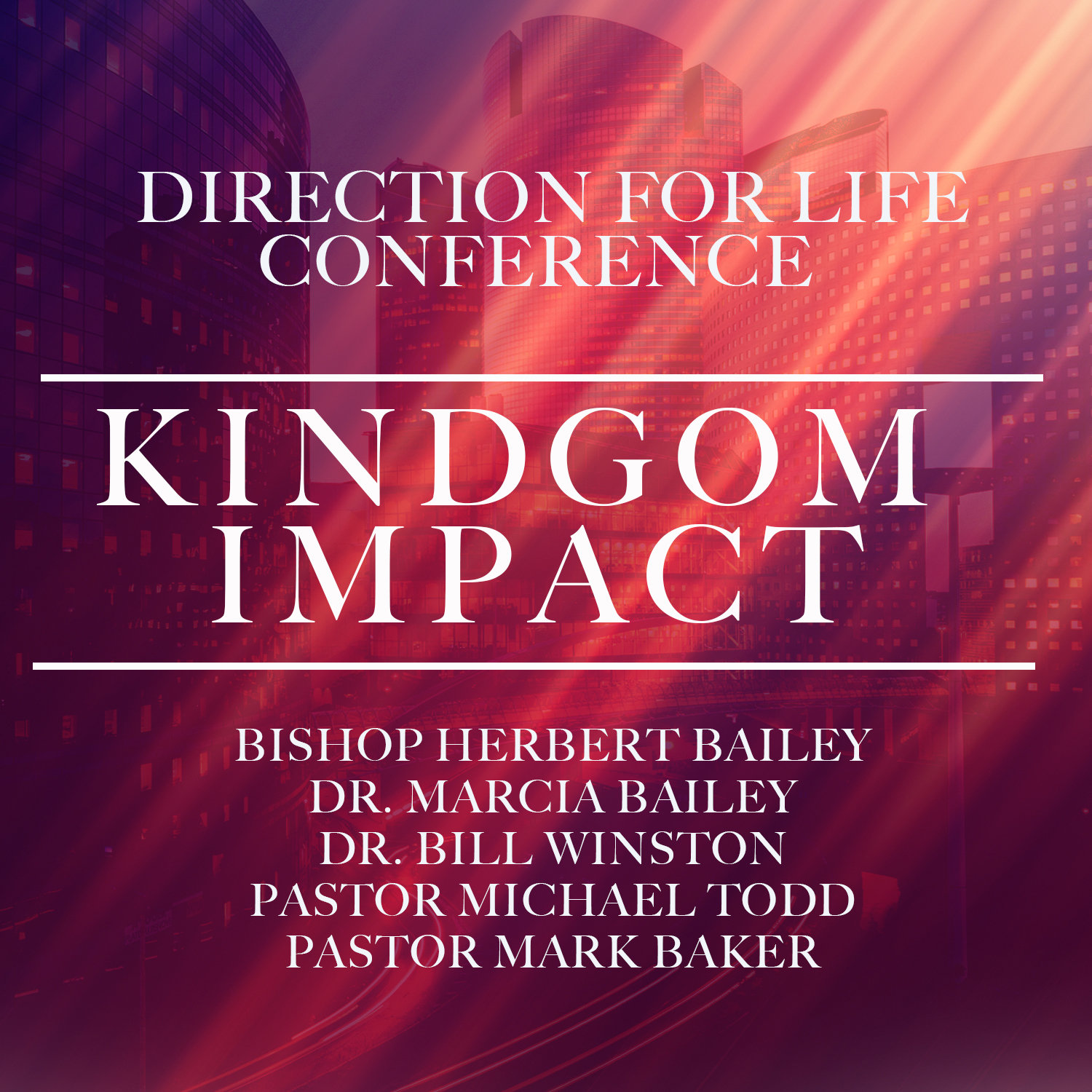 Direction for Life 2018: Kingdom Impact-DVD Series DVD6116
