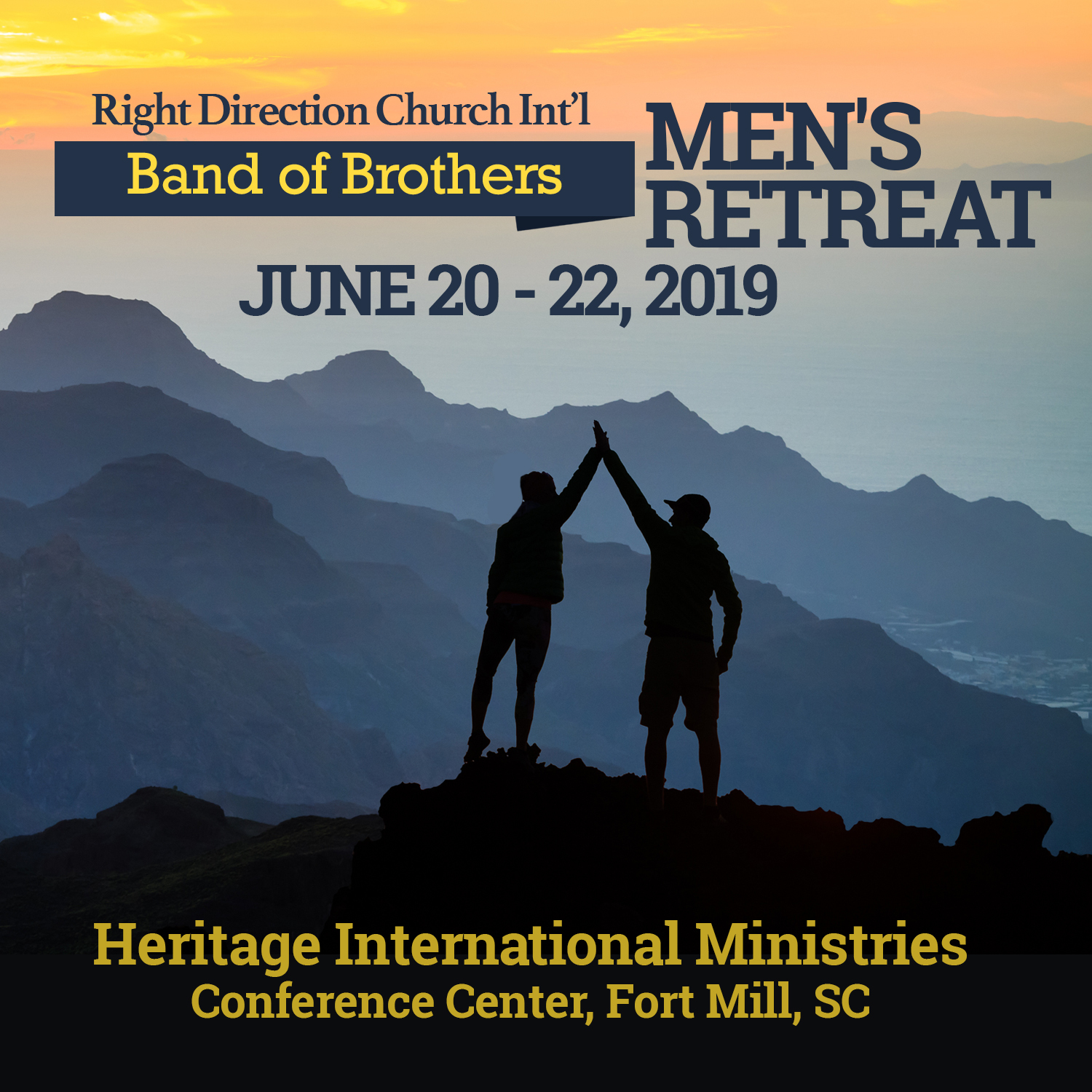 Band of Brothers Men's Retreat - Package A (Deposit) RDCI0040a