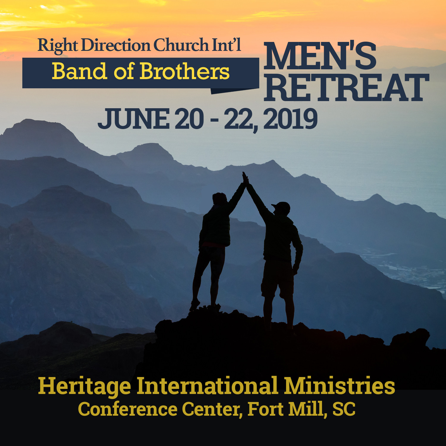 Band of Brothers Men's Retreat - Package A (2nd Payment)