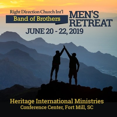 Band of Brothers Men's Retreat - Package B (2nd Payment)