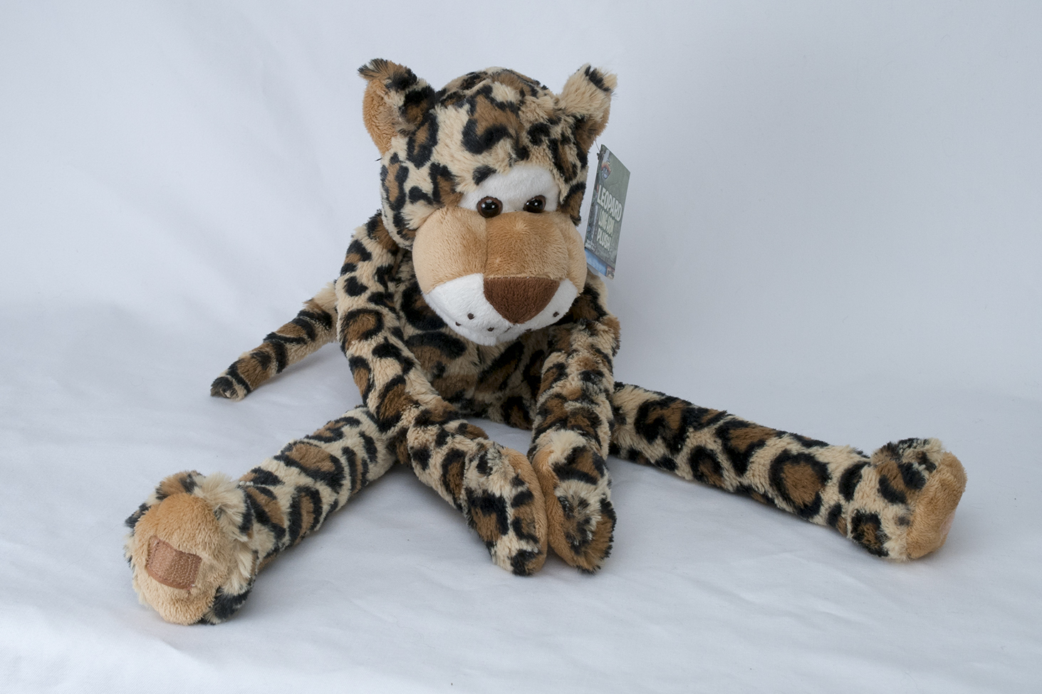 Swingin' Safari Stuffed Leopard
