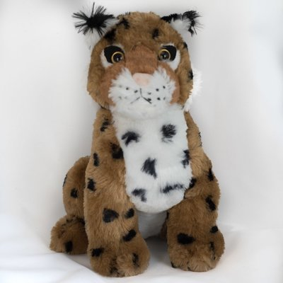 Large Bobcat Stuffed Animal