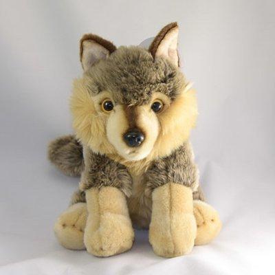 Grey Wolf Stuffed Animal