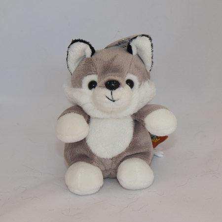 Mini Stuffed Wolf 00078