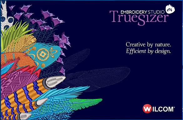 Wilcom TrueSizer e4 Editing program with 57 embroidered files