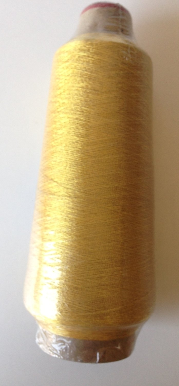 "Embroidery Machine Metallic Yarn Thread large cone 5500 yards and 7"" high"