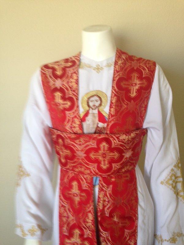 Coptic Church Deacon's Stole (SHAMASS Badrsheel)