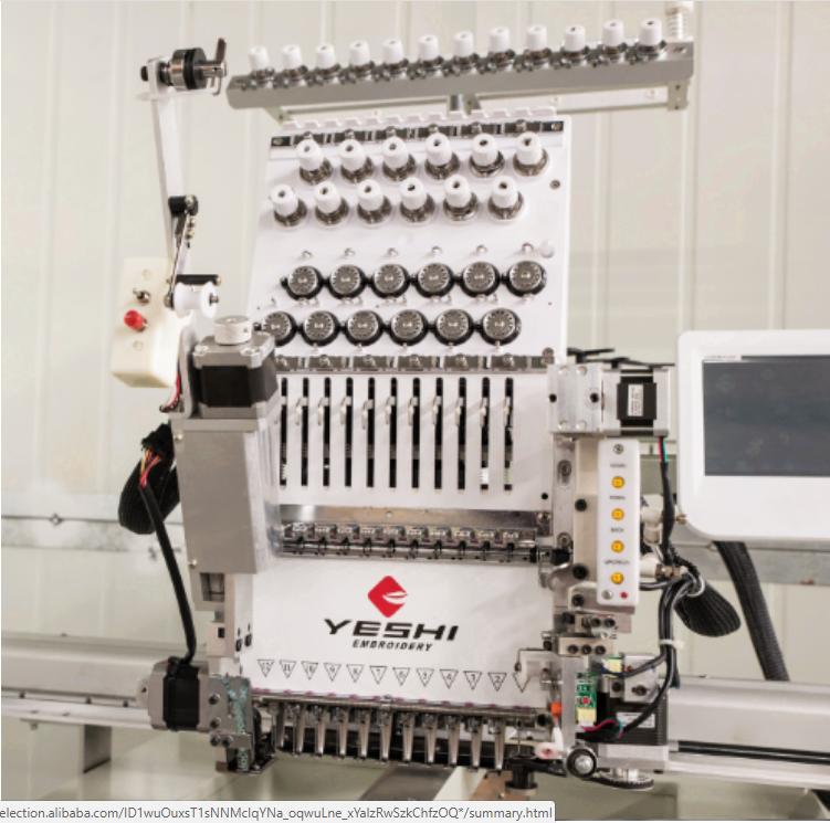 One Head Computerized Embroidery Machine