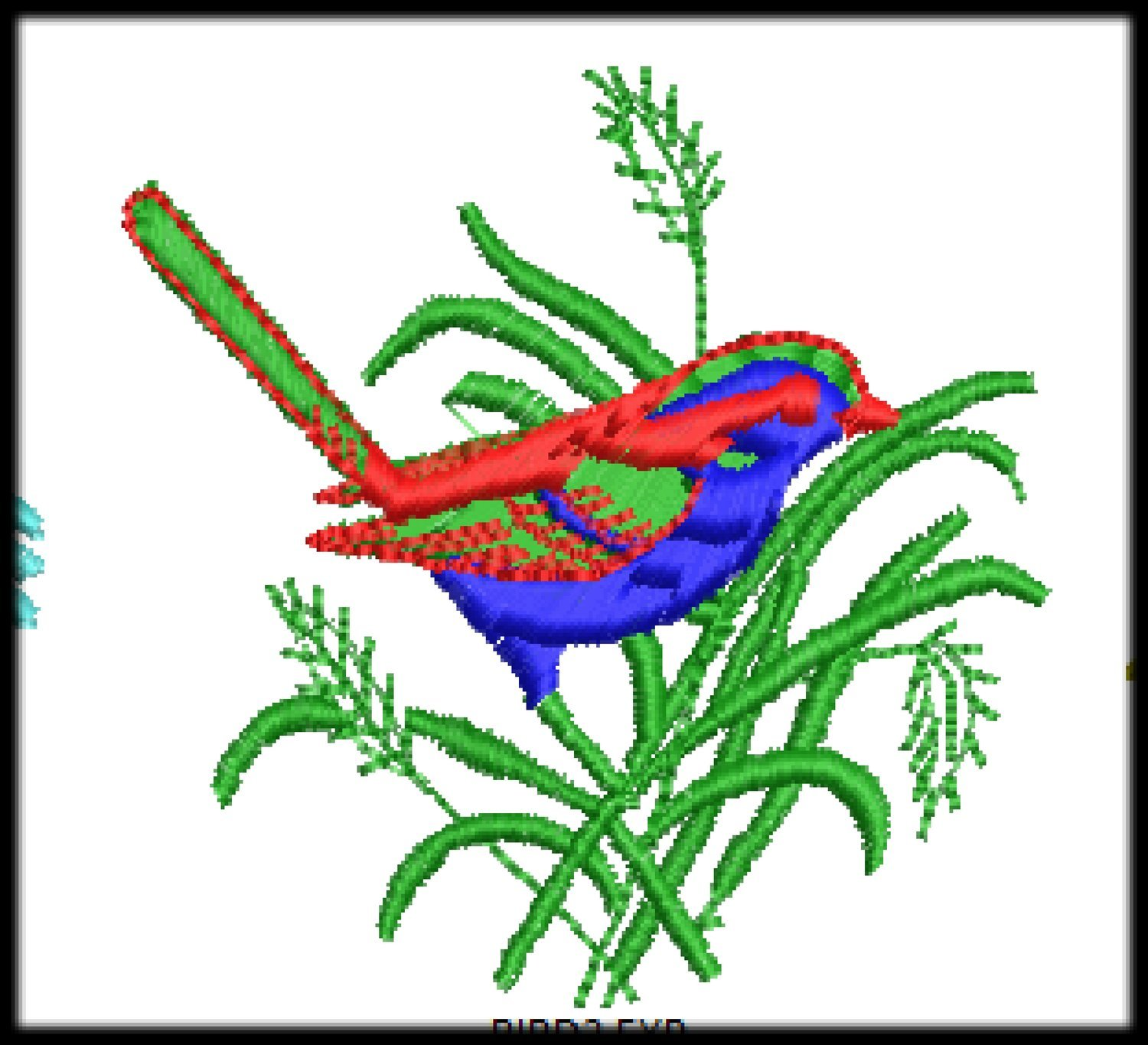 54 Embroidery File Digitized Designs to run any Embroidery Machines Format