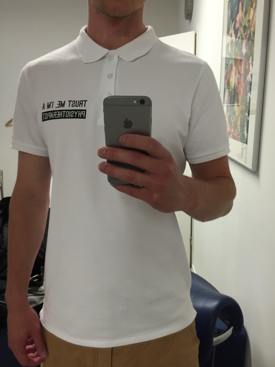 Polo Shirt white 2