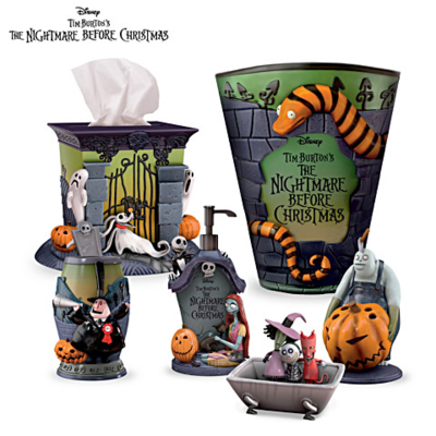 Set Para Baño Jack Nightmare Before