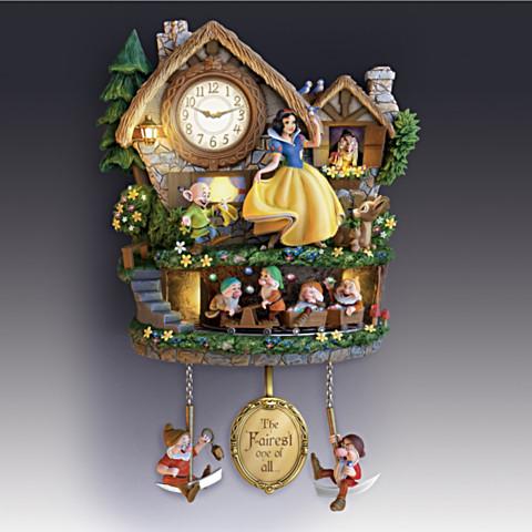 Reloj de Pared Blanca Nieves
